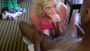 Blonde QOS Hot Wife blows BBC